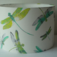 Dragonfly Dance Osborne & Little fabric lampshade
