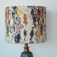 Day at the Races Drum Lampshade 25cm