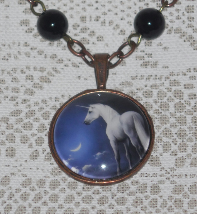 Mythical Dream Unicorn necklace