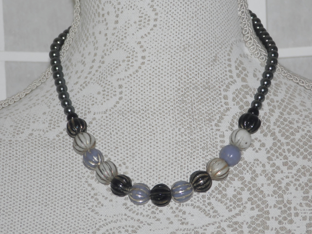 A Shade of Grey necklace