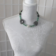 Green Ball necklace