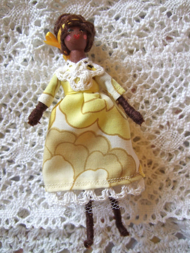 Little Doll in Yellow