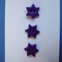 Dark Star Swirl Buttons