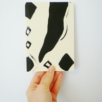 Hand Painted Patterned A5 Notebook