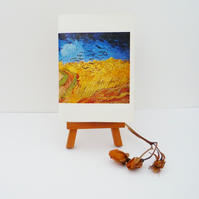 Free Postage - Miniature Vincent Van Gogh Painting Notebook