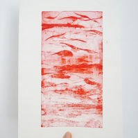Free Postage - Cheap Seconds - Sunset Collograph