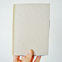 Free UK Postage - A6 recycled paper sketchbooks