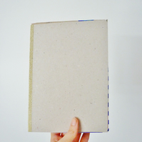 Free UK Postage - A5 recycled paper sketchbook