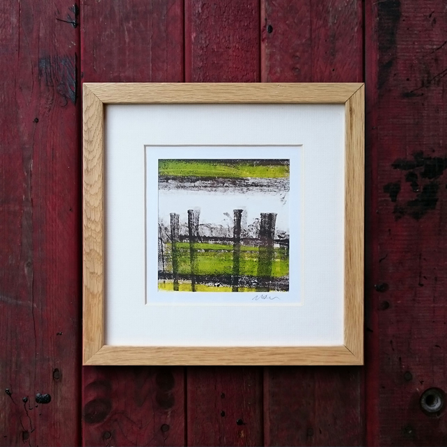 Leaden Skies – Framed and ready to hang