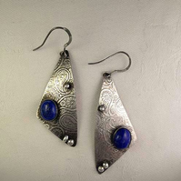 Lapis Sail earrings