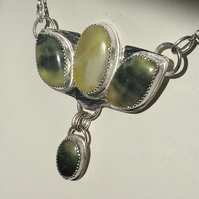 Scottish Green Marble necklace