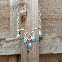 Shimmering Opal necklace