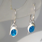 Shimmering Apatite earrings