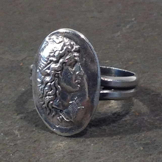 Silver Apollo ring