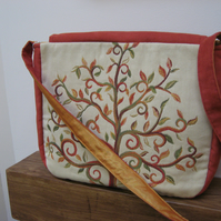 'Tree of Life' Autumn handbag