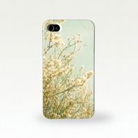 Cream Blossom Case for iPhone and Samsung Galaxy