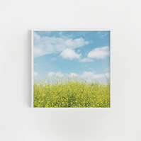 Beach Print, Bathroom Art  - Golden Meadow
