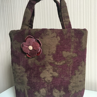 Small Tapestry Tote Bag