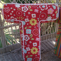 Handmade Alphabet Letter Cushions - Custom Order for Victoria22