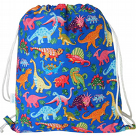 Dinosaur Backpack, Swim Bag, PE Bag, School Bag