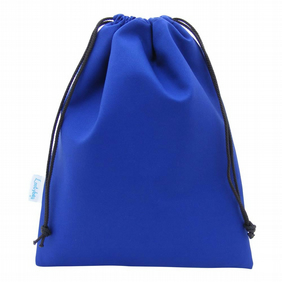 Drawstring Wash Bag, Toiletry Bag - Blue