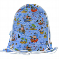 Pirate Waterproof Backpack, Swim Bag, PE Bag