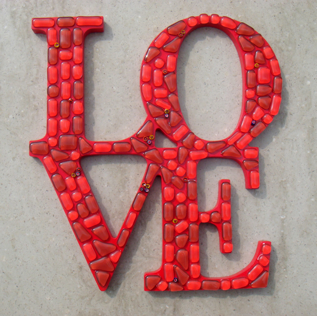 LOVE Wall Plaque Sign