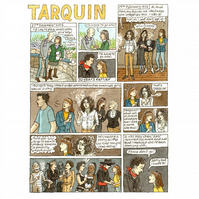 Tarquin: A short graphic story