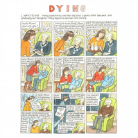 'Dying': a short graphic story