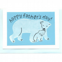 father's day, polar bear