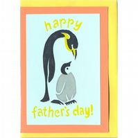 happy father's day, penguin