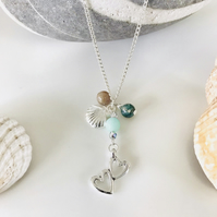 'LOVE OUR  OCEAN' NECKLACE