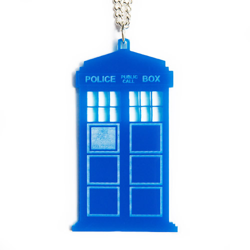 TARDIS Clip Art http://folksy.com/items/3278562-TARDIS-Necklace