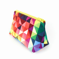 Small Cosmetics Bag Modern Geometric