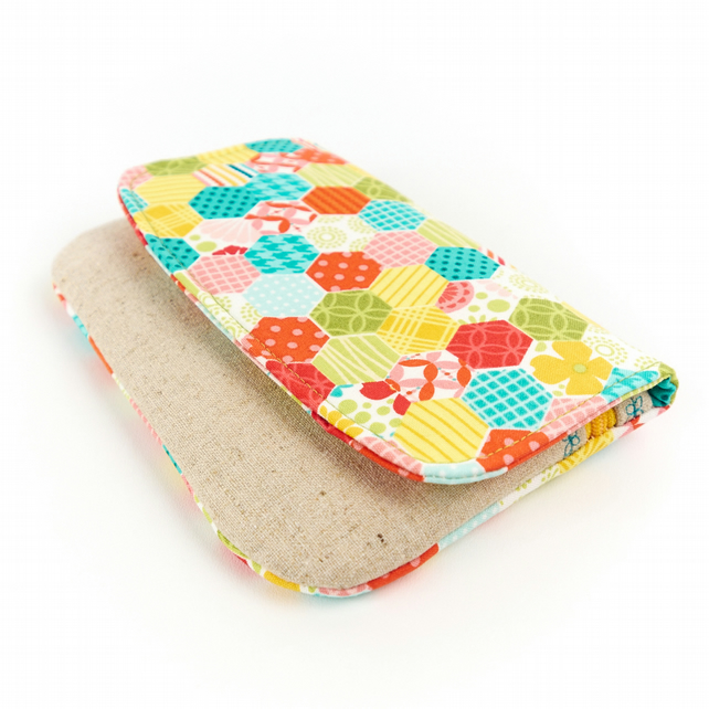 Padded iPhone Wallet Case So Happy Together