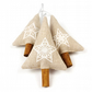 Scandinavian Style Minimalist Christmas Decorations - Set of 3