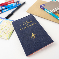 Passport Holder - The Little Book of Big Adventures - Gift for Traveller