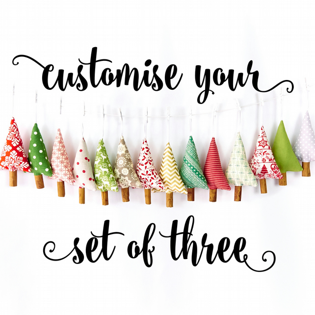 Mix and Match Christmas Tree Decorations