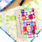 Colourful Passport Book Cover Cute Travel Gift Idea Passport Holder for Her