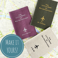 The Little Book of Big Adventures Personalised Passport Cover Travel Gift