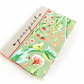 Embroidered Floral Women's Passport Holder Pretty Green Passport Cover