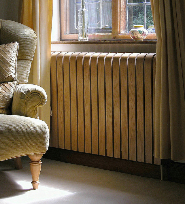 Wooden Curved Radiator Cover