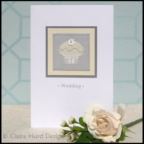 Cupcake Wedding Card
