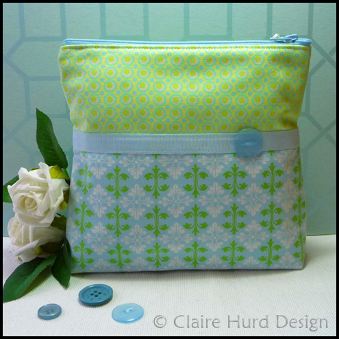 Contemporary Handmade Make-up Bag