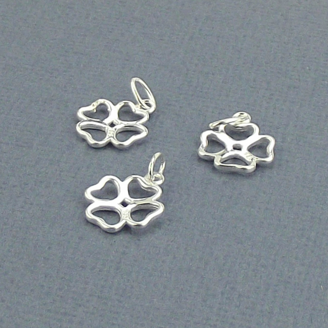 Mireval Sterling Silver Three-Tone Rings Pendant approximately 0 x 23 mm