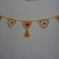 Oranges and Lemons Granny Bunting