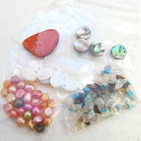Natural bead mix