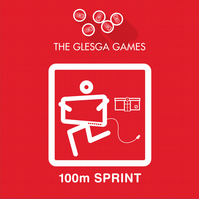 'Glesga Games' set of 9 cards