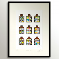 Tenement Ends - Small, Framed