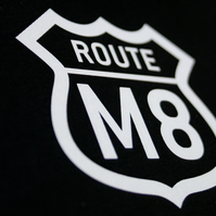 Route M8, mounted